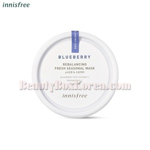 INNISFREE Blueberry Rebalancing Fresh Seasonal Mask 90g