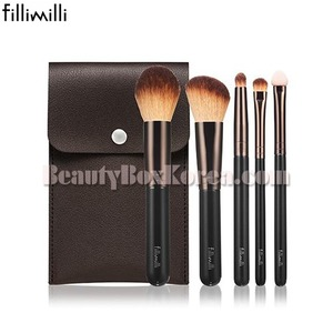 FILLIMILLI Mini Makeup Brush Set 5items