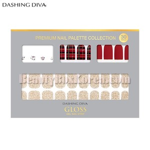 DASHING DIVA Gloss Premium Gel Nail Strip 1ea