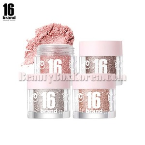 16BRAND Candy Rock Pearl Powder 1.8g