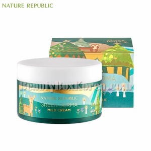 NATURE REPUBLIC Green Derma Mild Cream 190ml[Green Holiday Edition]