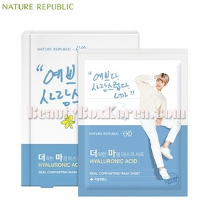 NATURE REPUBLIC Real Comforting Mask Sheet 24g*5ea[EXO Edition]
