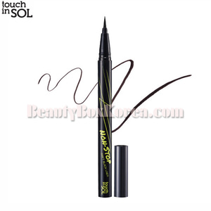 TOUCH IN SOL Non-Stop Swift Black Pen Liner 0.5g