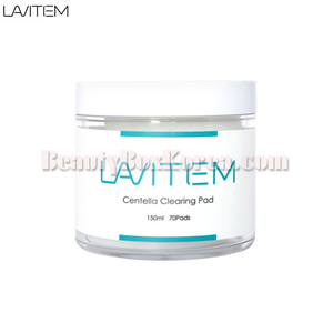 LAVITEM Centella Clearing Pad 150ml 70pads