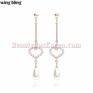 WING BLING Temperature Of Love Earring 1pair