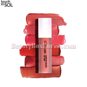 TOUCH IN SOL Pretty Filter Chiffon Velvet Lip Tint 5.5g
