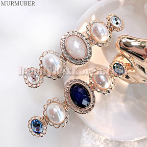 MURMURER Pearl Gemstone Hair Pin 1ea