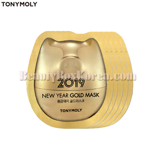 [mini]TONYMOLY Gold Mask 5ml*5ea[2019 New Year Gold]