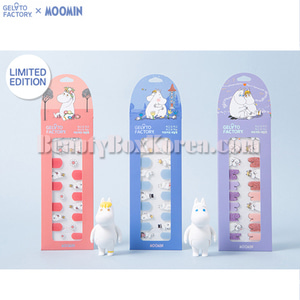 GELATO FACTORY Hatto Hatto Nail Fit 1ea[MOOMIN Edition]