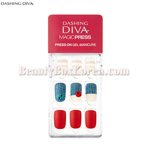 DASHING DIVA Magic Press Press-On Gel-Manicure 1ea[Hello Sweetie]
