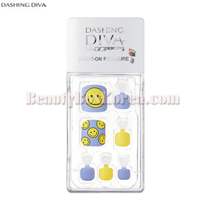 DASHING DIVA Magic Press Super Slim Fit Pedicure 1ea[Hello Sweetie]