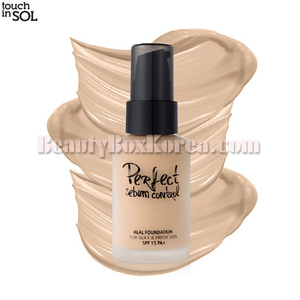 TOUCH IN SOL Perfect Sebum Control Real Foundation SPF 15 PA+ 30ml