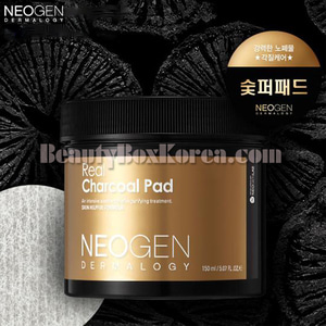 NEOGEN Real Charcoal Pad 60ea 150ml