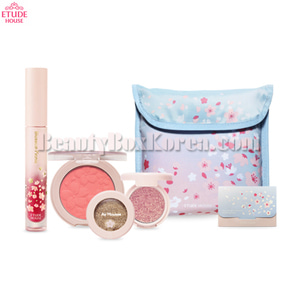 ETUDE HOUSE Pink Blossom Look Set 6items[Online Excl.]