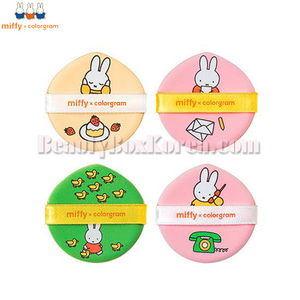 COLORGRAM MIFFY Cushion Puff 1ea
