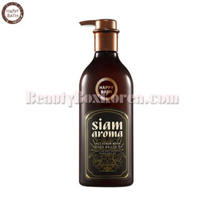 HAPPY BATH Siam Aroma Salt Scrub Wash 650ml