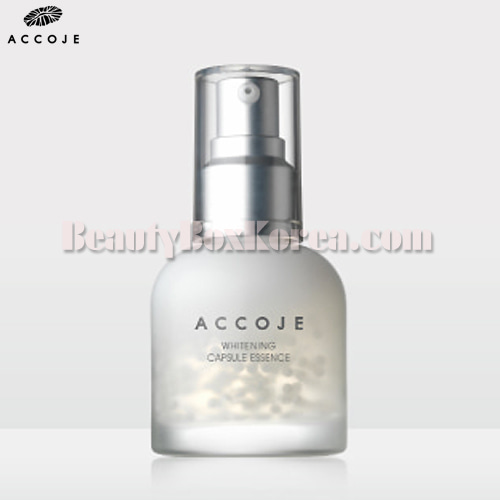 ACCOJE Whitening Capsule Essence 50ml available now at Beauty Box Korea