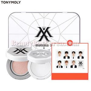 TONYMOLY MONSTA X Tone Up Tin Set 4items
