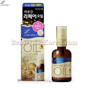LUCIDO-L Argan Hair Treatment Repair Oil 60ml