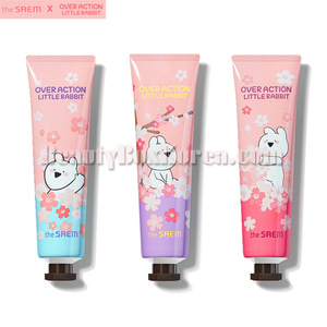 THE SAEM Perfuemd Hand Velvet Cream 30ml[Over Action Little Rabbit Cherry Blossom]