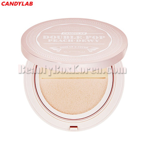 CANDY LAB Doublepop Peach Dewy Tone Up&Cover Cushion 20g