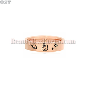 OST X BT21 Rose Gold Ring 1ea