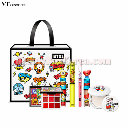 VT X BT21  Art in Lucky Box 5items