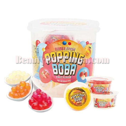 BUBBLE STORM Popping Boba 900g