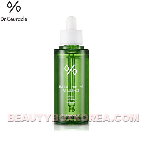 DR.CEURACLE Tea Tree Purifine 95 Essence 50ml,Beauty Box Korea