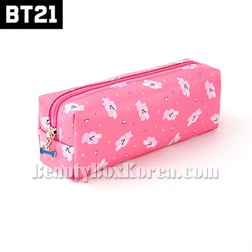 BT21 C-Pocket Pattern Pouch 1ea [BT21 x MONOPOLY]
