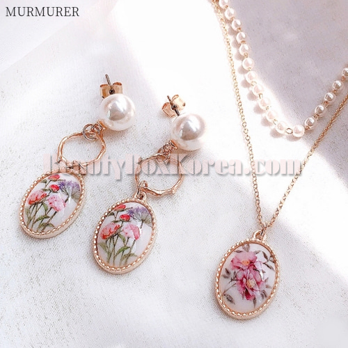 MURMURER Spring Flower Pearl Pastel Set 2items