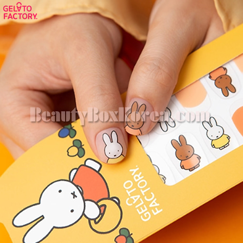 GELATO FACTORY Hatto Hatto Nail Fit 1ea[Miffy Edition]
