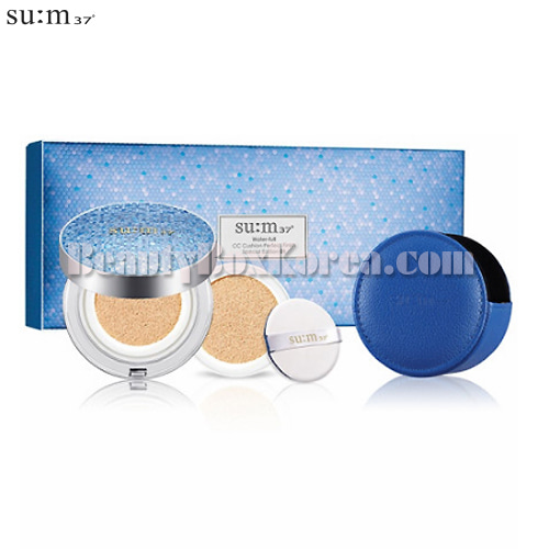 SU:M37 Water-full Cushion Perfect Finish Set 3items[2019 April Limited]
