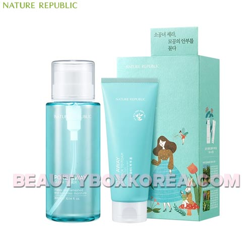 NATURE REPUBLIC Pore Away Clear Toner Special Set 2items