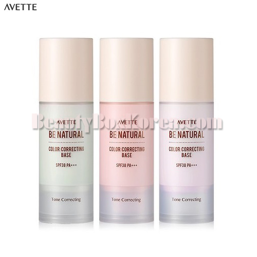 AVETTE Be Natural Color Correcting Base SPF38 PA+++ 30g