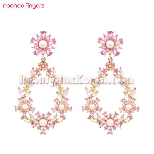 NOONOO FINGERS Fairy Garden Earrings 1ea