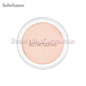SULWHASOO Snowise Brightening Cushion SPF50+ PA+++ Refill 14g,Beauty Box Korea