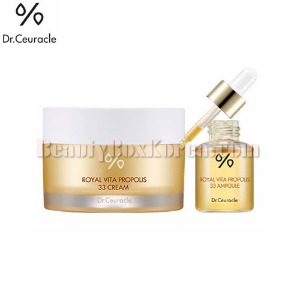DR.CEURACLE Royal Vita Propolis 33 Cream Set 2items
