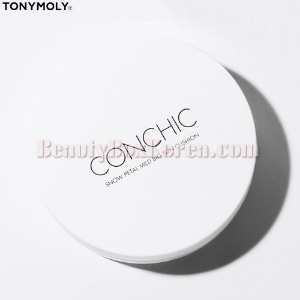 TONYMOLY Conchic Snow Petal Mild Big Sun Cushion SPF50+ PA++++ 25g