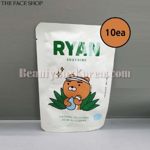 THE FACE SHOP Ryan Soothing Jelly Mask 30ml*10ea [THE FACE SHOP X KAKAO FRIENDS]