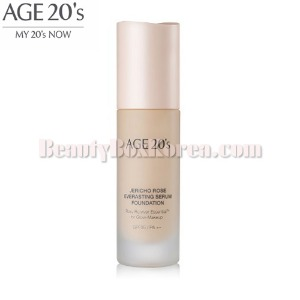 AGE 20'S Jericho Rose Everasting Sebum Foundation SPF35 PA++ 30ml