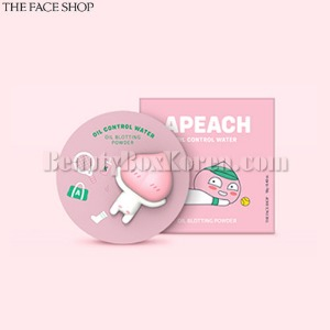 THE FACE SHOP Apeach Oil Control Water Powder 12g [THE FACE SHOP X KAKAO FRIENDS]