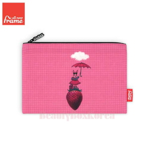 ALL NEW FRAME Strawberry Rabbit Pouch 1ea