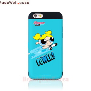 MADEWELL-CASE Power Puff Girls Card Bumper Phone Case Bubble