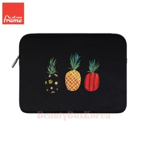 ALL NEW FRAME Pineapple Tablet Pouch (iPad Air/Air 2,Galaxy Tap S2) 1ea