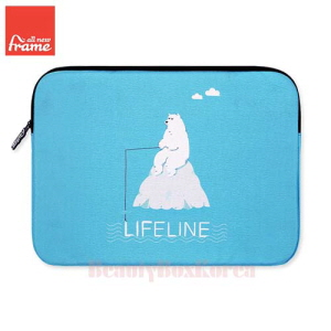 ALL NEW FRAME Life Line Tablet Pouch (iPad Air/Air 2,Galaxy Tap S2) 1ea
