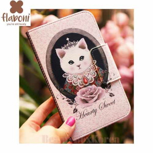 FLABONI Hearty Sweet Royal White Purse Phonecase