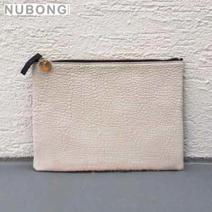 NUBONG Two face Clutch Embossed