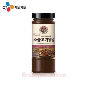 CJ Sauce of Beef Bulgogi Marinade 290g,Beauty Box Korea