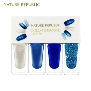 NATURE REPUBLIC Color&Nature 4-Step Kit 4ml x 4ea, NATURE REPUBLIC